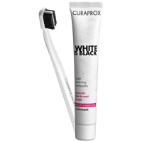 CURAPROX BLACK IS WHITE SET
